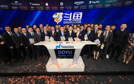 Tencent-backed streamer Douyu stumbles in Wall Street debut