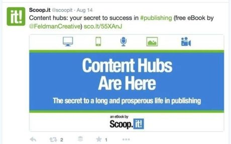 Scoop.it enables professionals and businesses to research and publish content through its