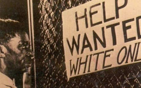 HELP WANTED - White Only