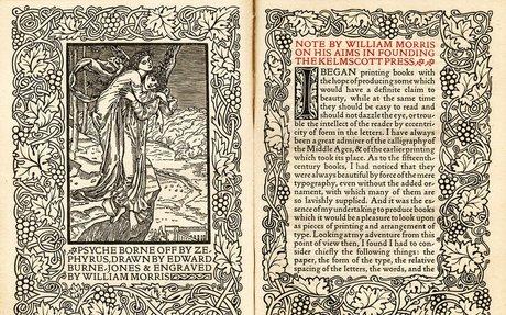 William Morris and Book Design