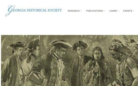 Georgia Historical Society Feature: Tomochichi