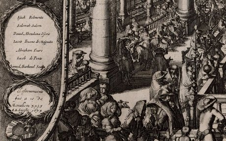 [Inauguración de la Sinagoga portuguesa de Amsterdam]