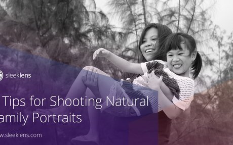 5 Tips for Shooting Natural Family Portraits