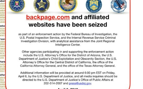 Backpage Has Been Taken Down By The US Government And Sex Workers Aren't Happy