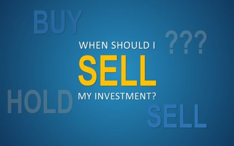 When Should You Sell Your Investments?