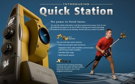 Topcon Quick Station (QS) Introduction