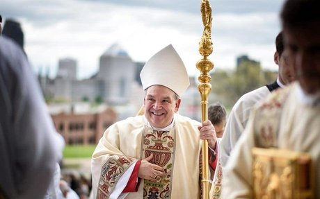 Mass with the Archbishop - Tuesday