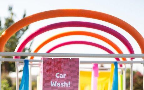 PVC Pipe Car Wash Sprinkler