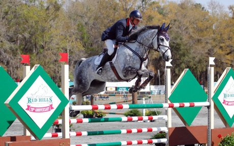 Eventing:  First Class Takes First Place At Red Hills CIC*