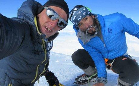 Montañista ecuatoriano rompe récord de ascenso y descenso al monte Denali de Alaska - P...