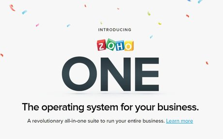 Zoho - Cloud Software Suite and SaaS Applications for Businesses