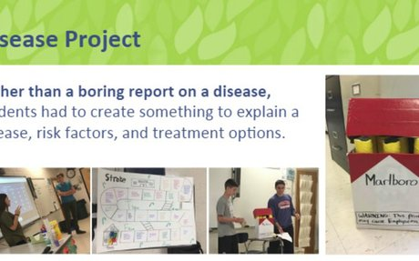 Disease Project and Health Students