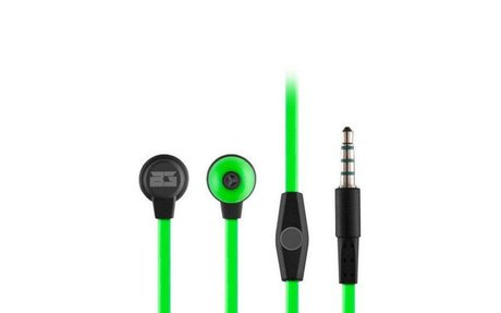 Gaming Earpiece with Microphone BG BG-AUD09 1,2 m Green