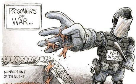 War on Drugs: 08/20/2013 Cartoon by Adam Zyglis
