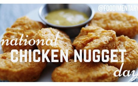 November 13th is National Chicken Nuggets Day!