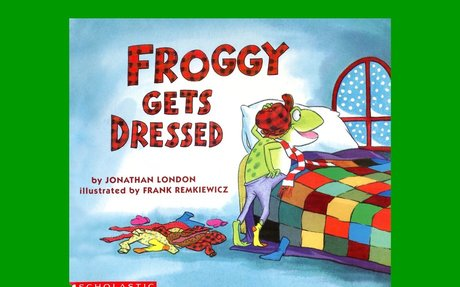 FROGGY GETS DRESSED by Jonathan London.  Grandma Annii's Storytime