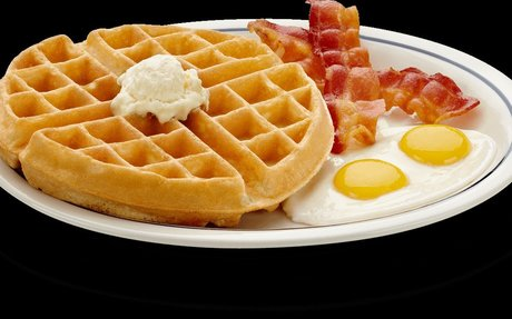 Waffles are my favorite food