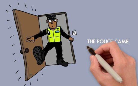 Impact of police raids on children