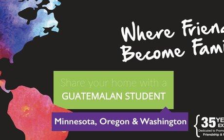 Guatemalan Exchange Students - Host Families Needed!
