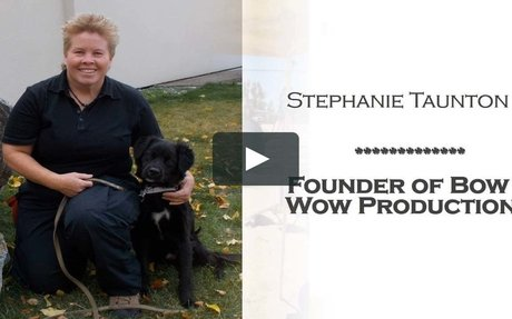 Stephanie Taunton | Founder OF Bow Wow Productions
