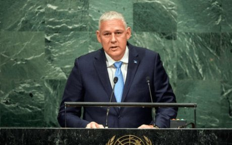 """Chastanet to UN: """"We need real solutions in real-time!"""" 