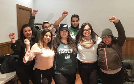 With U.S. funding deadline near, Dreamers ask Eagles to take a stand