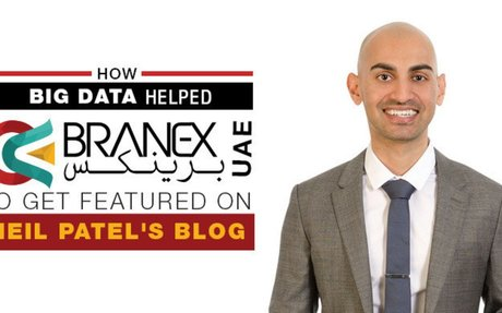 How Big Data helped Branex UAE to get featured in Neil Patel blog -