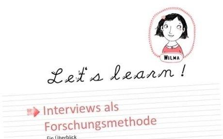 Wilmas Tutorials: Interview als Forschungsmethode - ein Überblick