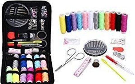Amazon.com: Sewing Kit for Travel,Mini sew kits supplies with 74 Portable Basic Sewing Acc