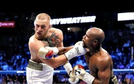 Floyd Mayweather Savage TKO of Conor McGregor - Moment to Remember