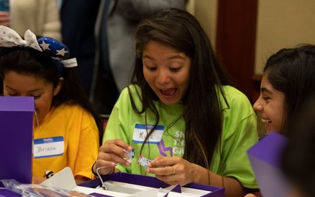 Too many men are building our future. Disney, littleBits give girls $4M to change that