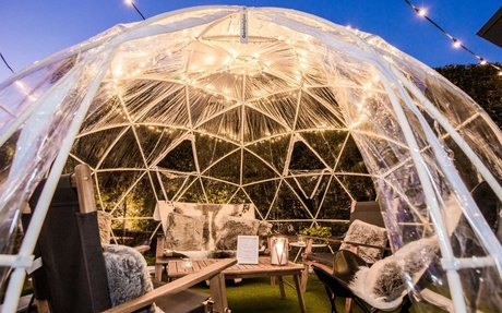 Winter Igloo Gardens Are Popping Up at Four More Pubs Across Queensland
