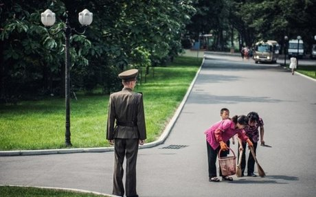 Inside North Korea: Forbidden photos taken inside Kim Jong-un's secretive state