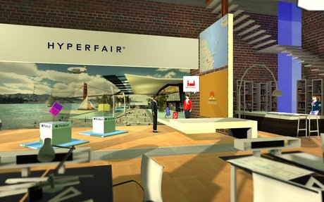 Hyperfair - Product and Use - Social VR for the Enterprise