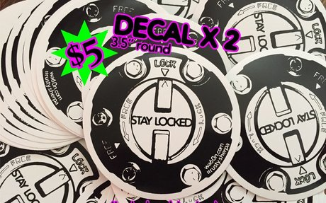 "$5 - 2 X 3.5"" Vinyl Decal - Pay using PayPal"