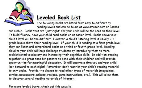 Leveled Book List