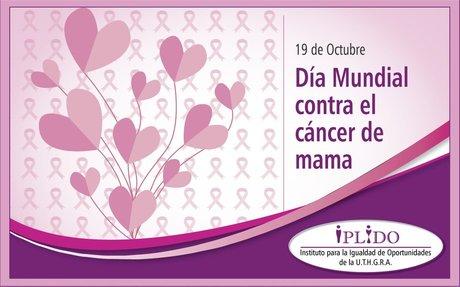 19 de Octubre. Día Mundial Contra el Cáncer de Mama