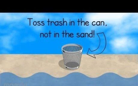 Dont Trash the Beach