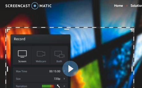 Screencast-O-Matic: Fast, free screen recording