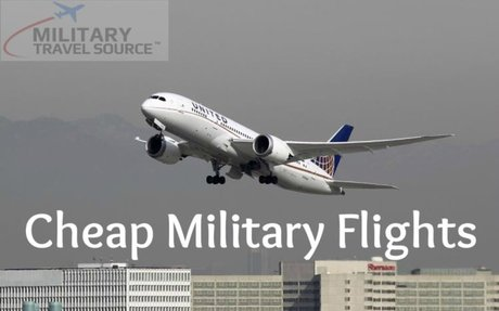 Get Heavy Discount on Military Flights