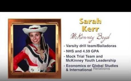 Scholar Artist of the Week - Sarah Kerr