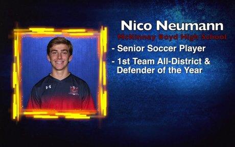Scholar Athlete of the Week - Nico Neumann