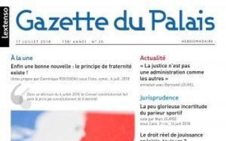 «Médiation judiciaire : une pratique qui peine à émerger» par  Miren Lartigue (Gazette d