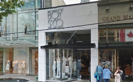 Boys'Co to Relocate Flagship from Downtown Vancouver to Coquitlam