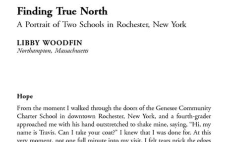 Finding True North: A Portrait of Two Schools in Rochester, New York