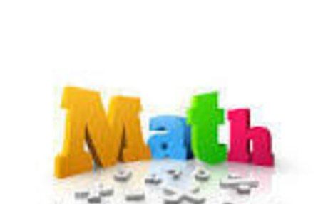 Math my favorite subject (other than P.E )