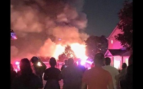 Two Nicor Gas Workers Injured, Townhouse Units Destroyed in Romeoville Explosion