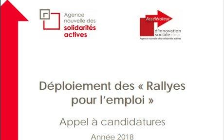 Déploiement des « Rallyes pour l'emploi »