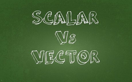 Scalar and Vector Measurements