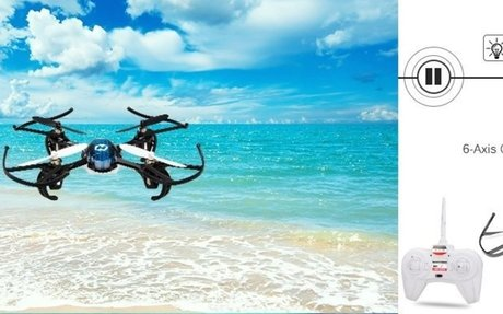 Amazon.com: Holy Stone HS170 Predator Mini RC Helicopter Drone 2.4Ghz 6-Axis Gyro 4 Channe